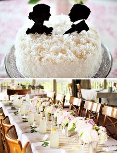 Silhouette Cake Toppers