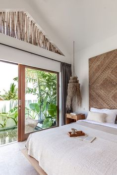 Villa Ruby is the perfect holiday villa in Bali, Indonesia. Bali Bedroom, Bali Style Home, Home Design, Interior Design, Interior Decorating, Tropical Interior, Beautiful Villas, Tropical Houses, Inspired Homes