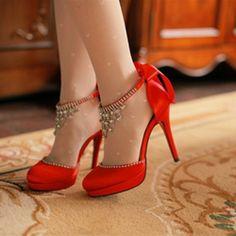 2014 butterfly wedding bridal  Women shoes high heels waterproof  wedding shoes, crystal rhinestone shoes Pumps US $49.99
