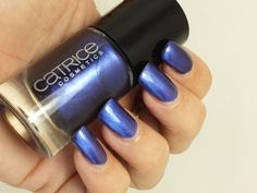 Catrice Blue and a Half Man Swatch