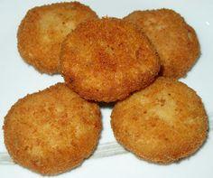 Cómo preparar Nuggets de calabaza y setas , Recetas de Hamburguesas Vegetarianas y Veganas. Ingredientes: Calabaza , Cebolla , Perejil, Sal , Aceite de o...