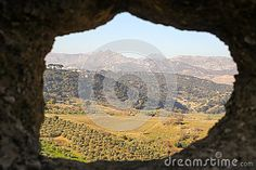 Photo about A view upon Ronda fields taken in december 2015 around Christmas time. It s a MUST-VISIT place if you like to hike! Image of famous, attraction, europe - 70321397 Andalusia Spain, Christmas Time, Fields, Grand Canyon, Attraction, December, Hiking, Europe, Stock Photos