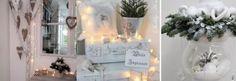 Liebst du weiße Farben zu Hause? Dann schau dir schnell diese 10 winterlich, weißen Dekorationsideen an!