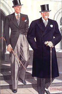 Classic Style for the Average Guy: A Few Great Old Laurence Fellows Illustrations Gentleman Mode, Vintage Gentleman, Dapper Gentleman, Gentleman Style, 1930s Fashion, Fashion Art, Vintage Fashion, Mens Fashion, Fashion Drawings