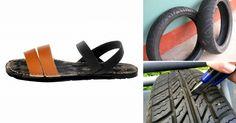 Una pisada diferente: cómo hacer tus propias sandalias con un viejo neumático