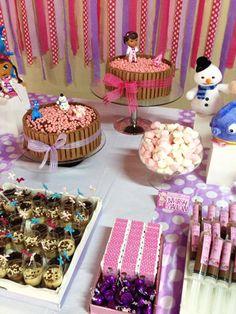 Veja a linda festa que nossa leitora Rafaela fez usando o kit do blog da Doutora Brinquedos!