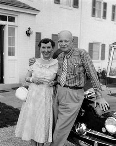 Photograph of Dwight and Mamie Eisenhower, 07/01/1955
