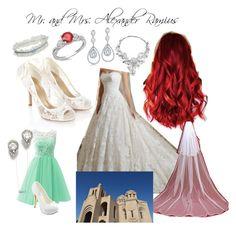 """Anya's Wedding"" by silentfoxrose on Polyvore"