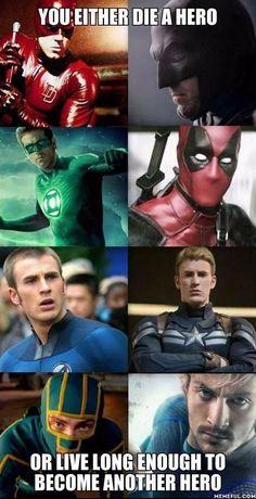 We believe in second chances... #superheroes