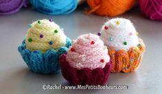 Recette des cupcakes au tricotin à laine – Explications pas à pas