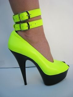 Killer neon heels Kamikaze