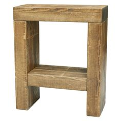 New Handmade Rustic Plank Furniture Solid Pine Skinny 3 Drawer Bedside Cabinet Superior Performance Furniture Home & Garden