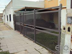Más Steel Fence, Iron Gates, Gate Design, Ideas Para, Architecture, House, Furniture, Railings, Home Decor