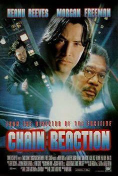 Chain Reaction (1996) Review Bad Film, Film Movie, Rachel Weisz, Keanu Reeves, Morgan Freeman Movie, Pixar, Fred Ward, Capas Dvd, Driving Miss Daisy