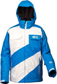 Metro II Jacket Blue/White by Picture...