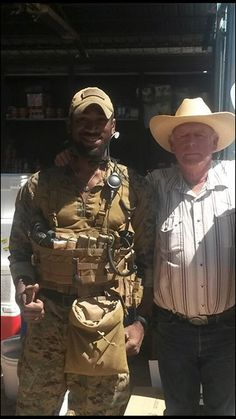 """Black Marines: Cliven Bundy Is Not Racist:""""Who the heck are we to determine another man's perspective on the world around him?!"""":  Image: Charlie Delta, Facebook"""
