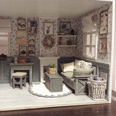 Miniature room ♡ ♡ By cosydollhouse