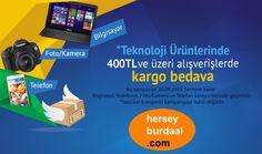 İnternet alışverişinin en uygun ve en güvenilir adresi. www.herseyburdaal.com
