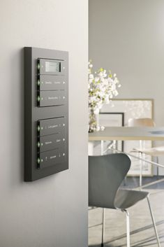 Modern Light Switches, Lift Design, Electrical Projects, House Keys, Smart Home Technology, Smart Home Automation, House Numbers, Modern Interior Design, My Dream Home