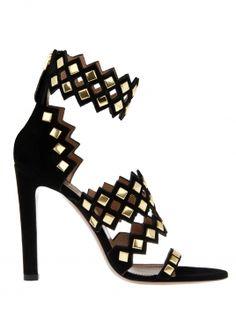 Golden Touch- Azzedine Alaia -statement  shoe.