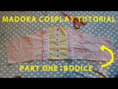 DIY Madoka from Puella Magi Madoka Magica cosplay sewing tutorial byt JessDresses Cosplay  https://www.facebook.com/jessdressescosplay/