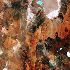 #welcome to #Chile's salt flat!  The Sentinel-2A satellite takes us to the diverse #landscape of the eastern #Atacama #desert in South America. The region pictured lies around 200km east of the Chilean city of #Antofagasta on the #Pacific #coast (not pictured) and is virtually devoid of #vegetation. At the top of the image we can see part of Chiles largest salt flat the Salar de #Atacama. With an average elevation of some 2300 m above sea level it is formed by waters flowing down from the…