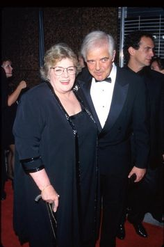 Singer Rosemary Clooney and brother Nick Clooney. 1997