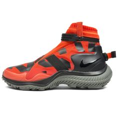 promo code 72e26 303ad  AA0530-800  Nike x Gyakusou Gaitor Boot Orange (Team Orange, Black
