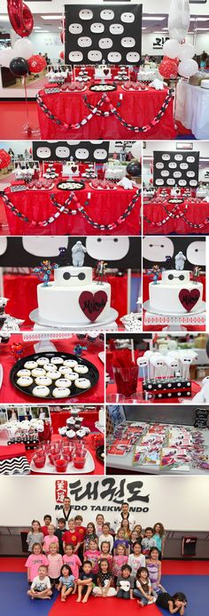 Big Hero 6 Themed Birthday Party, Baymax Birthday Party - great ideas for Big Hero 6 party