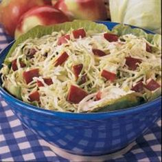 Apple Cabbage Slaw Allrecipes.com
