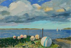 Artist Max Moran's North Fork scenes at Jedediah Hawkins... Scenic vistas meet oil and canvas in North Fork artist Max Moran's newest exhibition series, which explores man's relationship with the weather.