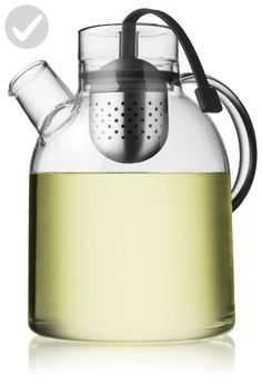 Menu 1-1/2-Liter Kettle Teapot, Glass with Tea Egg - Kitchen gadgets (*Amazon Partner-Link)