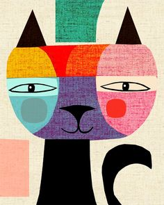 Cat Illustration | I N A L U X E : The Tale of Mr Cat