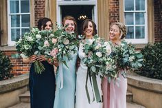 Image by Matthew Horan Photography - Charlie Brear Haliton Wedding Dress & Catroux Lace Skirt | Norwood Park | Ghost Bridesmaid Gowns | Mrs Umbels Organic Flowers | Matthew Horan Photography | http://www.rockmywedding.co.uk/kitty-nick/