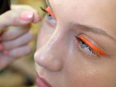 orange liner.