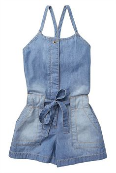 Chambray Playsuit