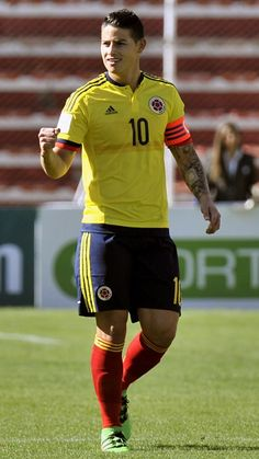 James Rodriguez . 24.3.16 Eliminatorias Comebol Rusia2018  Colombia vs Bolivia