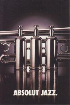 Absolut Jazz - Avant Card - Australia - # 1087 - 1996