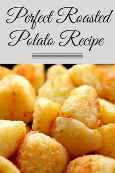 Nothing compliments any roasted meat and gravy like a crispy roasted potato.