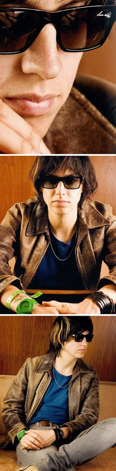 Julian Casablancas of The Strokes and JC and The Voidz