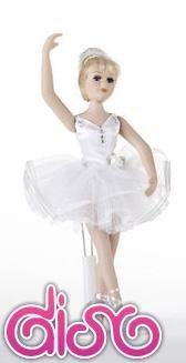 Muñecas de Porcelana - Bailarina dolls - 20cm