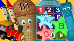 Nearly 28 minutes of fun, animated educational videos for kids preschool and kindergarten.