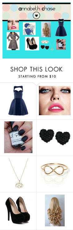 """Sem título #45"" by anachase123 on Polyvore featuring moda, Maybelline, Betsey Johnson e ZoÃ« Chicco"