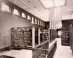 Upstairs at the old library