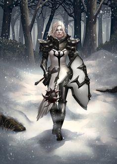 The Crusader by fleshtint.deviantart.com on @deviantART