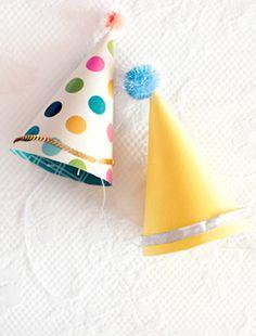 Easy DIY Party Hats