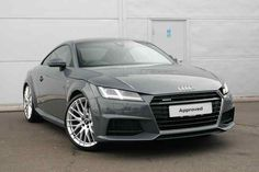 Nano grey metallic Audi TT Coupe