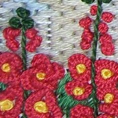 The Garden Gate Needlepoint by Meredith Willett - Detail 4