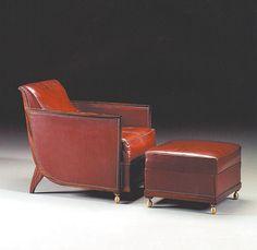 My Favorite Ruhlmann Chair and Ottoman.