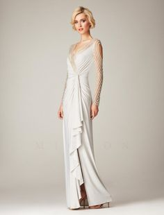 1920s Prom Dresses with Sleeves
